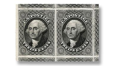 mint-1851-gray-black-george-washington-stamp