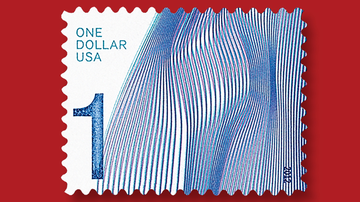 Add Waves To Your Collection With This Beautiful 2012 USPS 1 Definitive