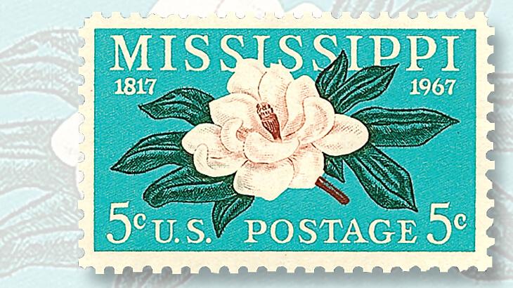 mississippi-statehood-magnolia-stamp