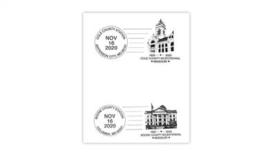 missouri-cole-county-boone-county-bicentennial-postmarks