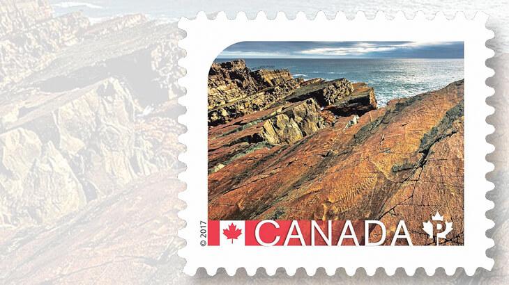 mistaken-point-canada-stamp