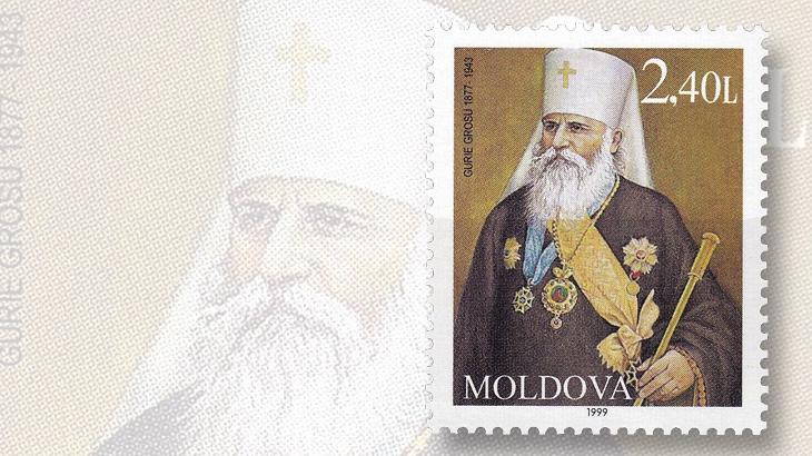 moldova-metropolitan-gheorge-of-bessarabia-stamp