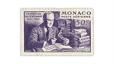 monaco-1947-franklin-d-roosevelt-airmail-stamp