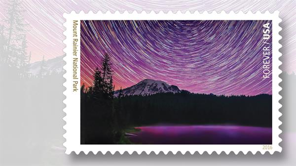 mount-rainier-national-park-stamp