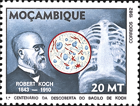 mozambique-robert-koch-stamp-1982