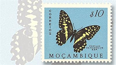 mozambique-ten-dollar-butterfly-stamp