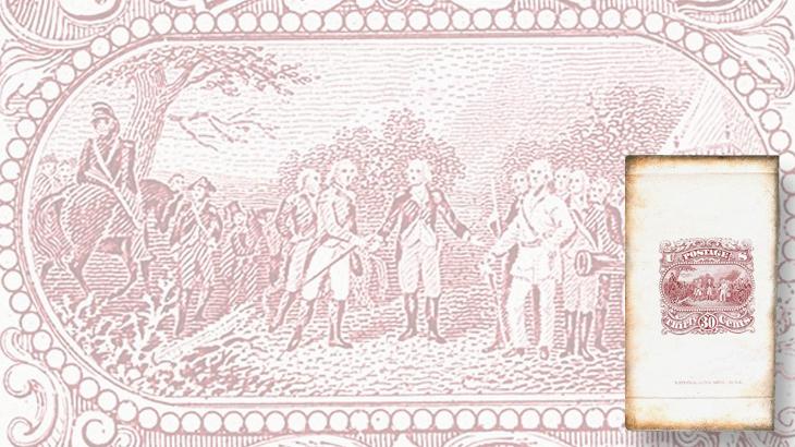 national-banknote-surrender-of-burgoyne-large-die-essay-siegel-auction-2015