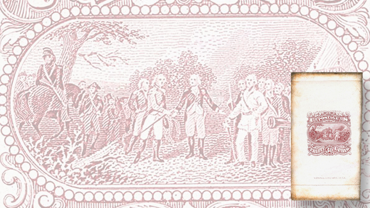 national-banknote-surrender-of-burgoyne-large-die-essay-siegel-auction-2015