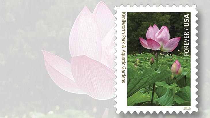 national-parks-stamps-kenilworth-park-aquatic-gardens