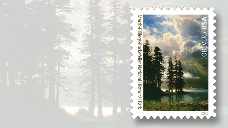 national-parks-stamps-marsh-billings-rockefeller