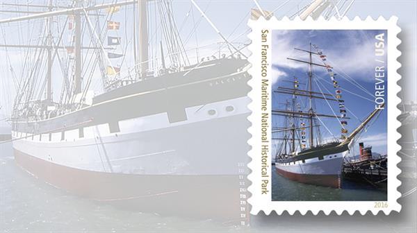 national-parks-stamps-san-francisco-maritime