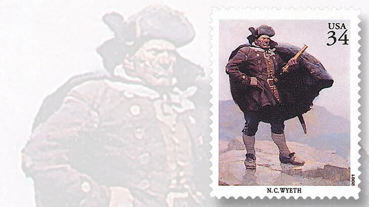 nc-wyeth-stamp-captain-bill-bones-painting