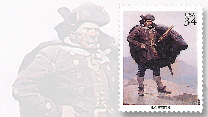 nc-wyeth-stamp-captain-bill-bones-painting