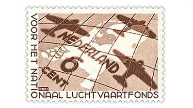 netherlands-1935-national-aviation-fund-semipostal-stamp