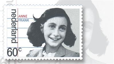netherlands-anne-frank-stamp