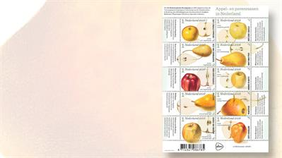 netherlands-apples-pears-stamps