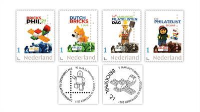 netherlands-de-philatelist-geleen-dutchbricks-stamps