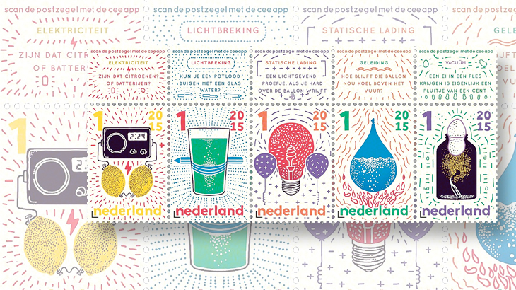 netherlands-discover-science-stamps
