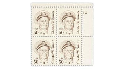 New Nimitz stamp tagging variety