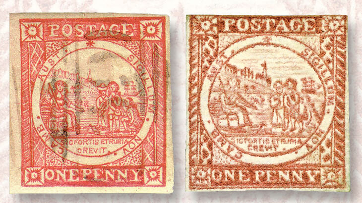 new-south-wales-one-penny-stamps