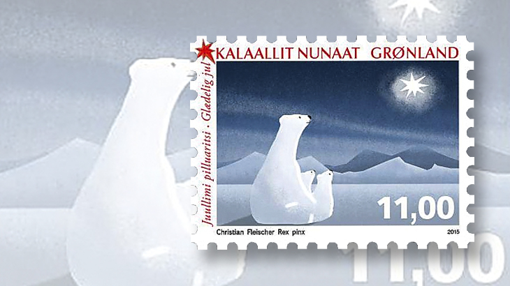 new-stamps-of-the-world-christmas-greenland-polar-bears