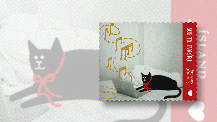 new-stamps-of-the-world-christmas-iceland-cat
