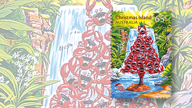 new-stamps-of-the-world-christmas-island-crabs-turtle