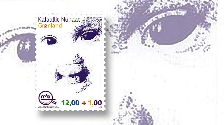 new-stamps-of-the-world-greenland-semipostal-mio-childrens-advocacy-center