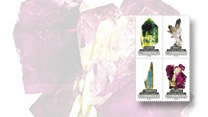 new-stamps-of-the-world-minerals-france-mineral-world-booklet
