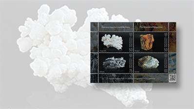 new-stamps-of-the-world-minerals-kyrgyzstan-souvenir-sheet