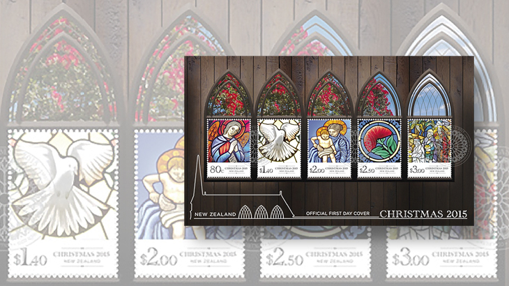 new-stamps-of-the-world-stained-glass-new-zealand-christmas-souvenir-sheet