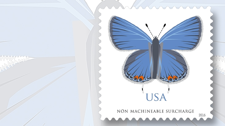 Sixth U S Butterfly Stamp S Technical Details Issue Date