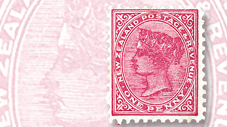 New Zealand postage and revenue stamps