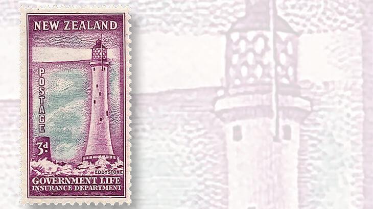 new-zealand-eddystone-lighthouse-stamp