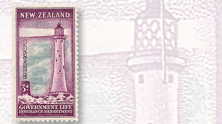 new-zealand-eddystone-lighthouse-stamp