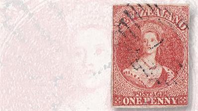 new-zealand-first-stamp-issue