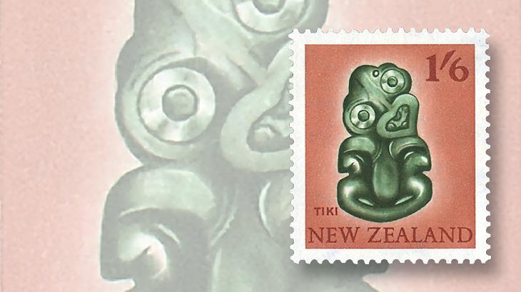 new-zealand-hei-tiki-1960-stamp
