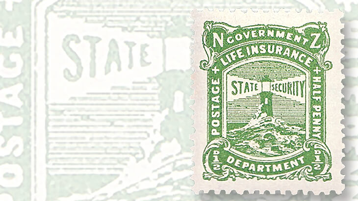 new-zealand-lighthouse-stamp
