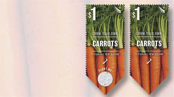 new-zealand-one-dollar-carrot-stamp