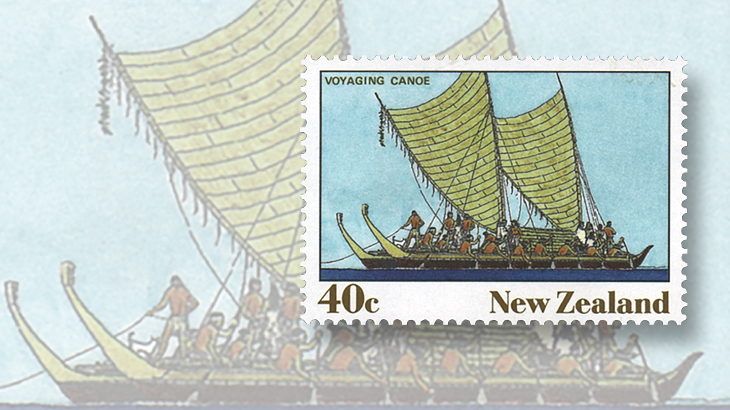new-zealand-polynesian-voyaging-canoe-stamp