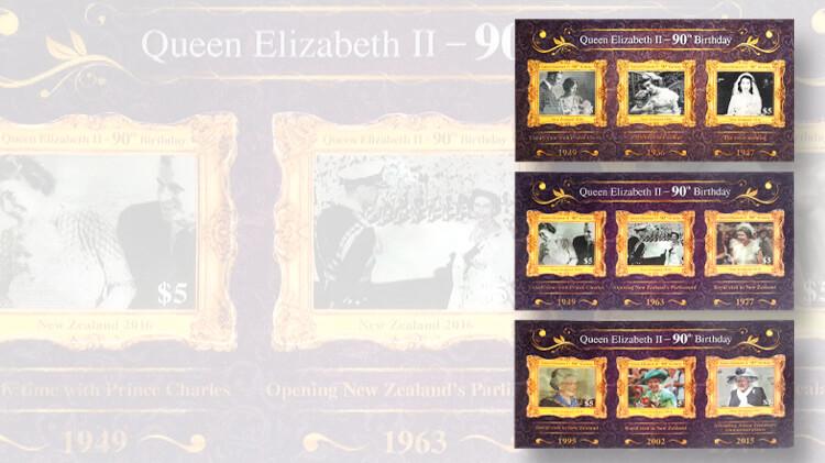 new-zealand-post-queen-elizabeth-ninetieth-birthday-stamps
