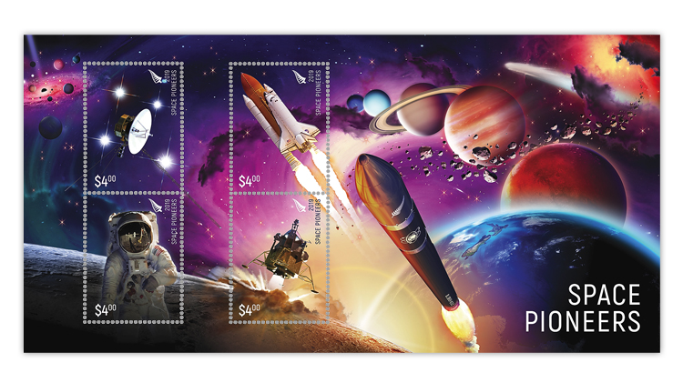 new-zealand-space-stamps-sheet