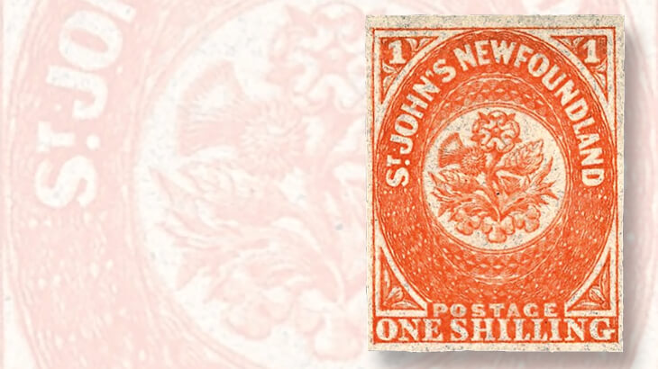 newfoundland-1-shilling-orange-stamp-linns