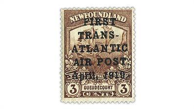 newfoundland-1919-hawker-airmail-stamp