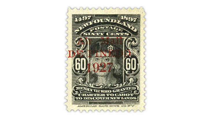 newfoundland-1927-airmail-stamp-de-pinedo-overprint