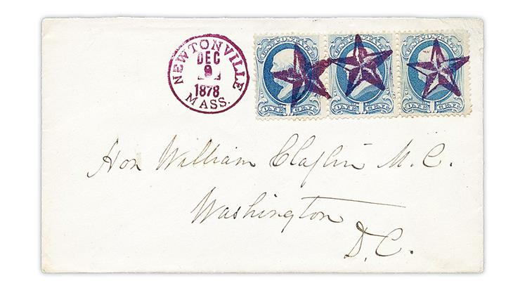 newtonville-massachusetts-1878-five-point-star-fancy-cancel-cover