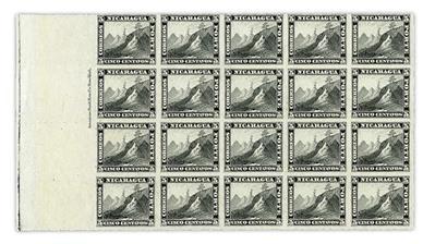 nicaragua-1878-liberty-cap-mountain-peak-imprint-block