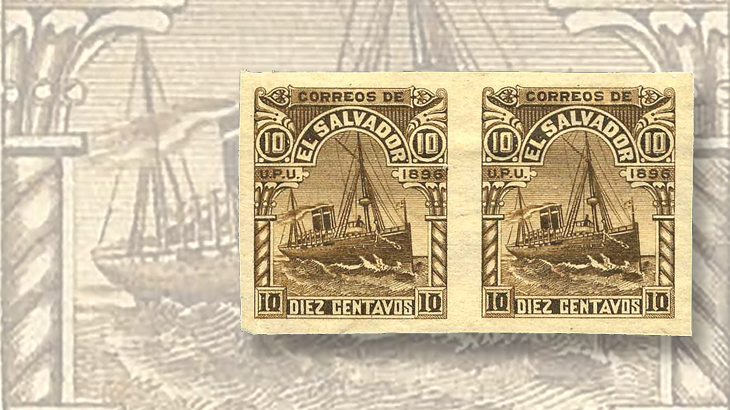 nicholas-seebeck-el-salvador-1896-ocean-steamship-imperforate-pair
