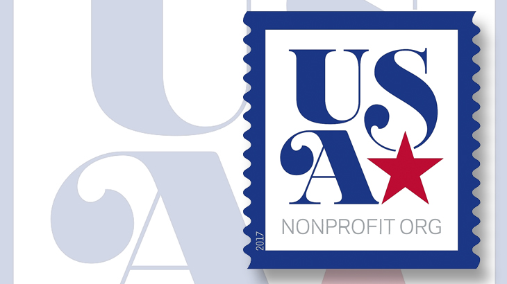 nonprofit-usa-star-mail-stamp