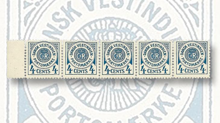 nordic-stamp-scene-danish-west-indies-postage-due-printing-plate-types